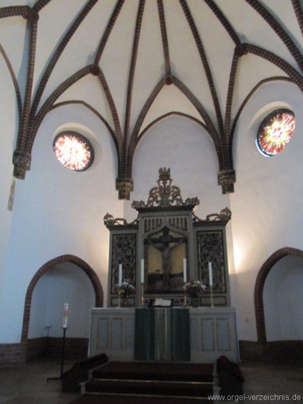 Berlin Oberschöneweide Christuskirche Altar