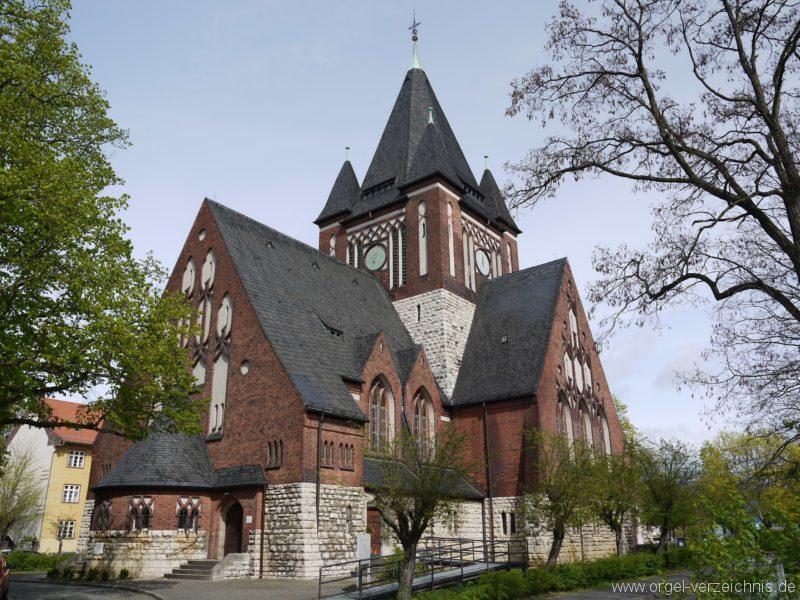 Berlin Oberschöneweide Christuskirche Aussenanblick 1