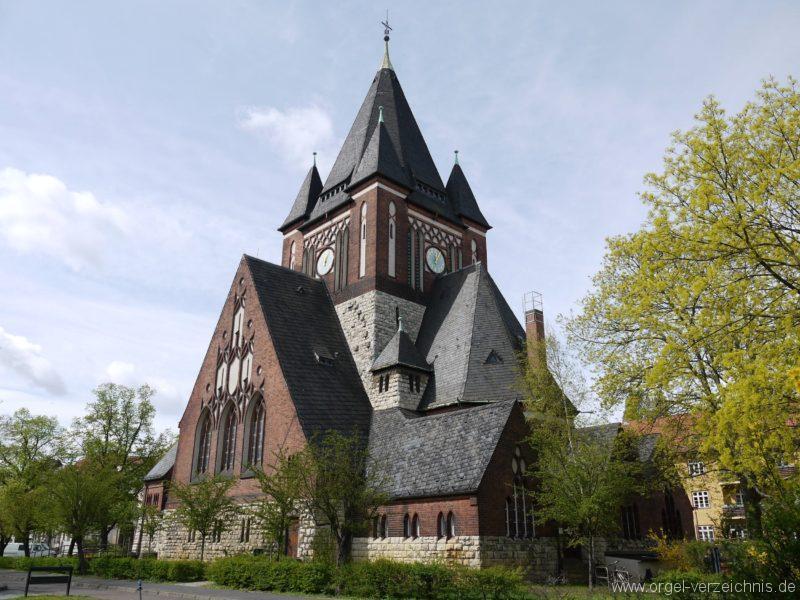 Berlin Oberschöneweide Christuskirche Aussenanblick 4
