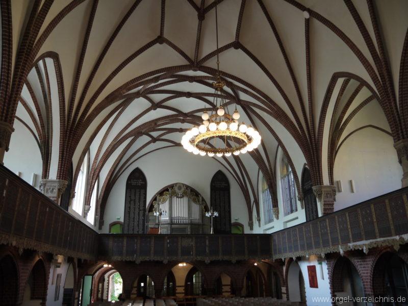 Berlin Oberschöneweide Christuskirche Innenansicht (2)