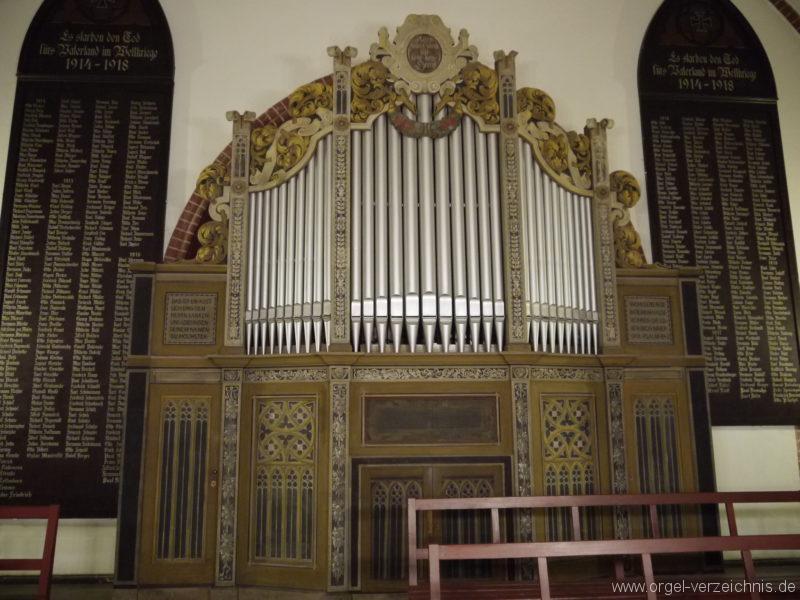 Berlin Oberschöneweide Christuskirche Orgelprospekt (1)