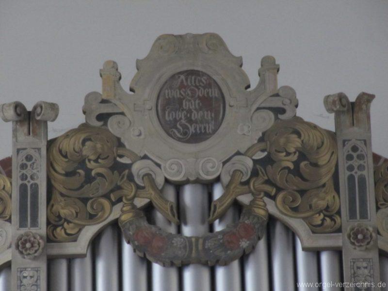 Berlin Oberschöneweide Christuskirche Orgelprospekt (2)
