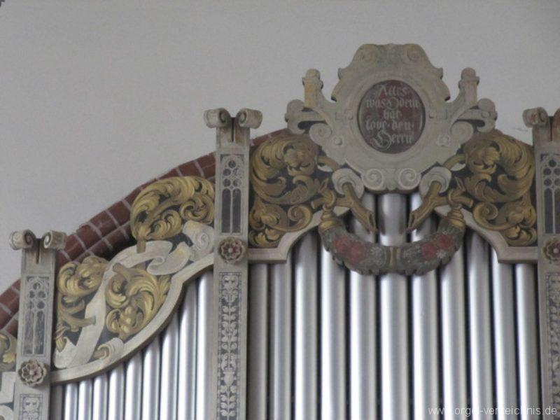 Berlin Oberschöneweide Christuskirche Orgelprospekt (3)