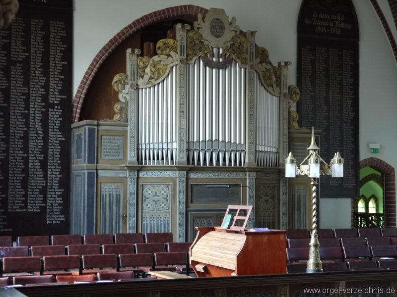 Berlin Oberschöneweide Christuskirche Orgelprospekt (7)