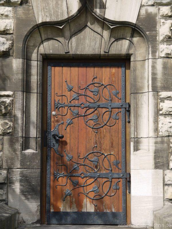 Berlin Oberschöneweide Christuskirche Portal
