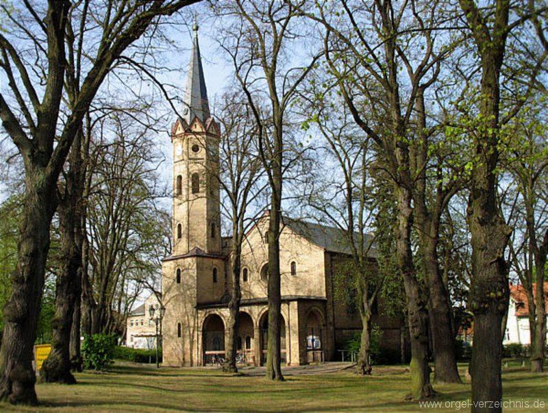 Birkenwerder Aussenansicht Kirche