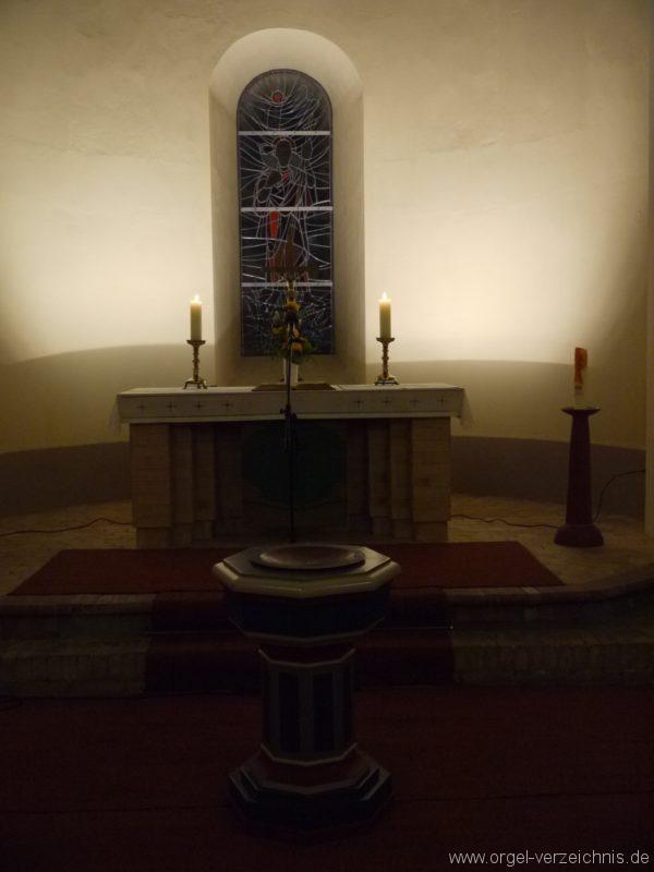 Birkenwerder Evangelische Kirche Altarraum I