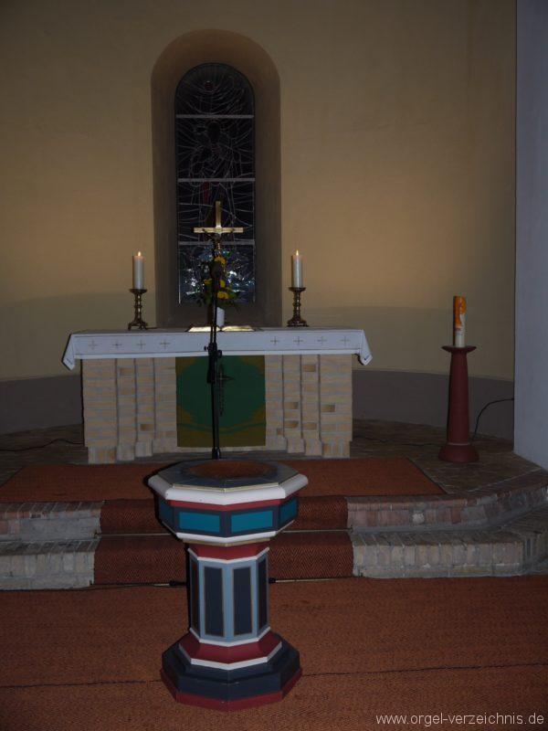 Birkenwerder Evangelische Kirche Innenansicht I
