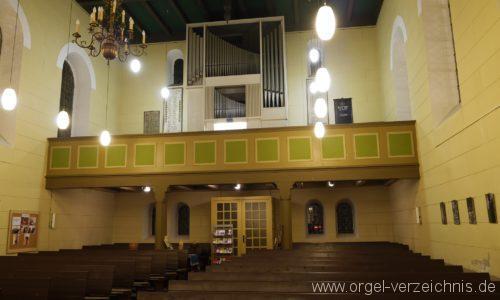 Birkenwerder Evangelische Kirche Innenansicht II