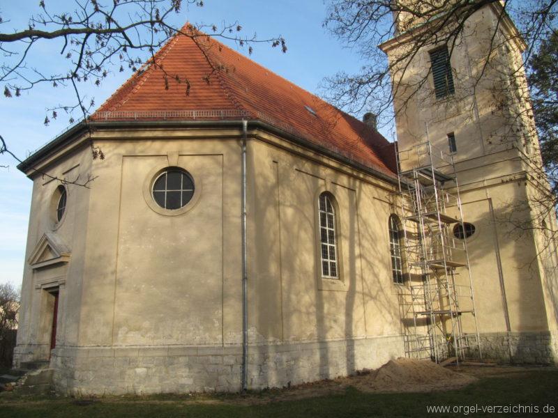 Gosen-Neu Zittau Evangelische Kirche Gosen Aussenansicht (2)