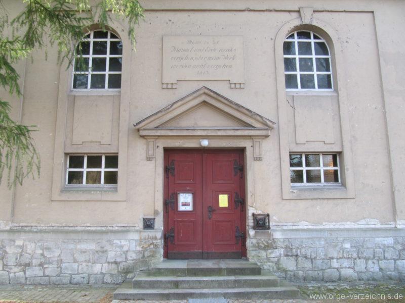 Gosen-Neu Zittau Evangelische Kirche Gosen Aussenansicht
