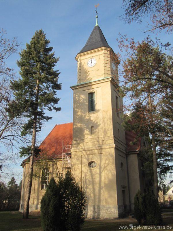 Gosen-Neu Zittau Evangelische Kirche Gosen Aussenansicht I