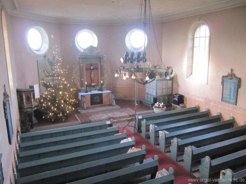 Gosen-Neu Zittau Evangelische Kirche Gosen Innenansicht I