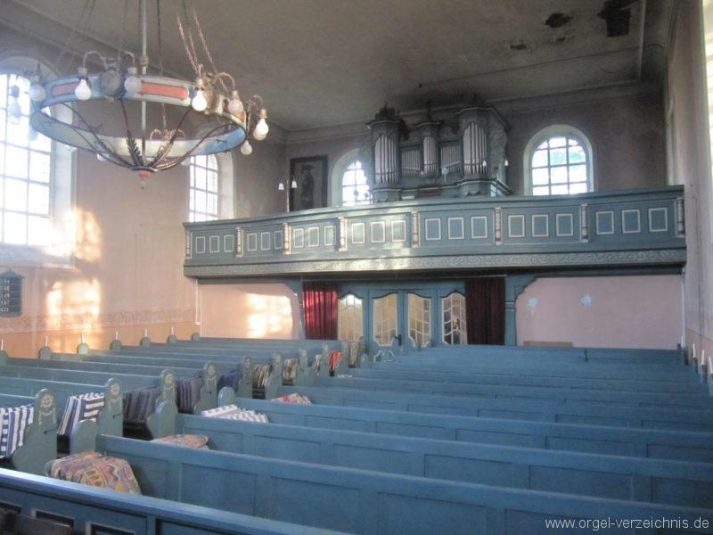 Gosen-Neu Zittau Evangelische Kirche Gosen Orgelprospekt (1)
