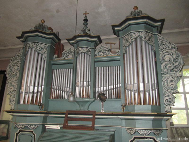 Gosen-Neu Zittau Evangelische Kirche Gosen Orgelprospekt (10)
