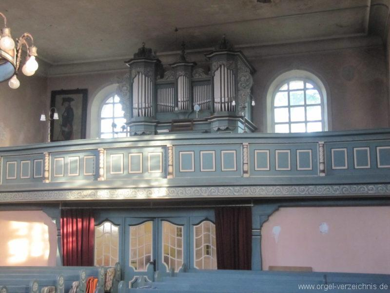 Gosen-Neu Zittau Evangelische Kirche Gosen Orgelprospekt (2)
