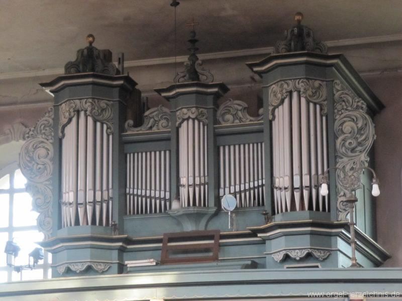 Gosen-Neu Zittau Evangelische Kirche Gosen Orgelprospekt (3)