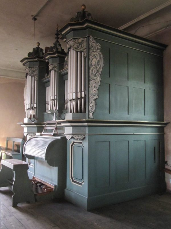 Gosen-Neu Zittau Evangelische Kirche Gosen Orgelprospekt (4)