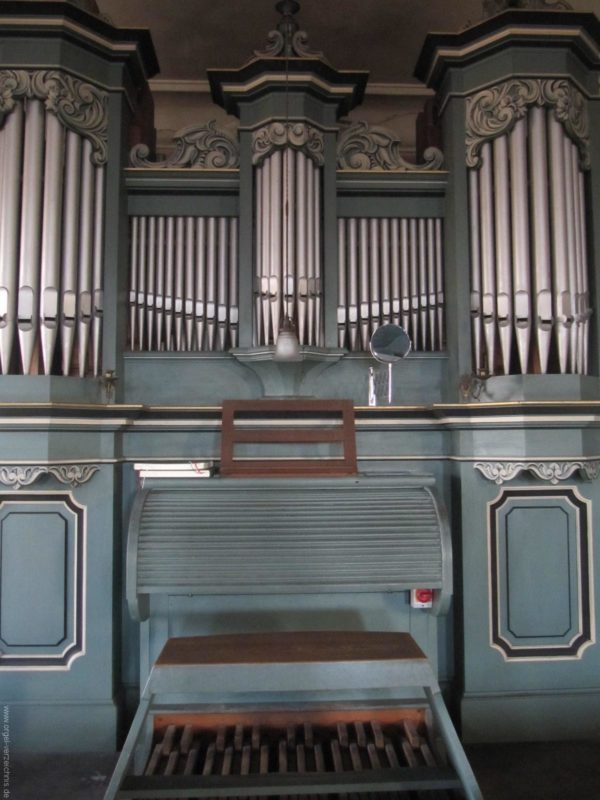 Gosen-Neu Zittau Evangelische Kirche Gosen Orgelprospekt (5)