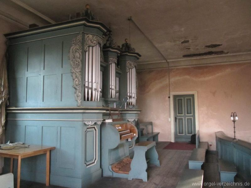 Gosen-Neu Zittau Evangelische Kirche Gosen Orgelprospekt (6)