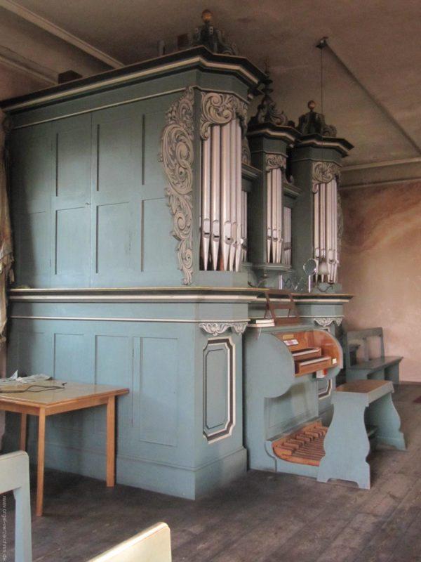 Gosen-Neu Zittau Evangelische Kirche Gosen Orgelprospekt (7)