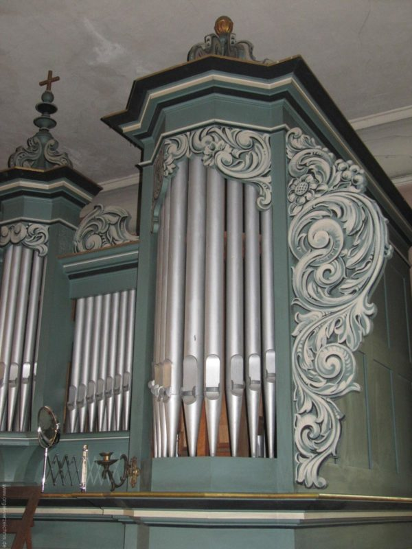 Gosen-Neu Zittau Evangelische Kirche Gosen Orgelprospekt (8)