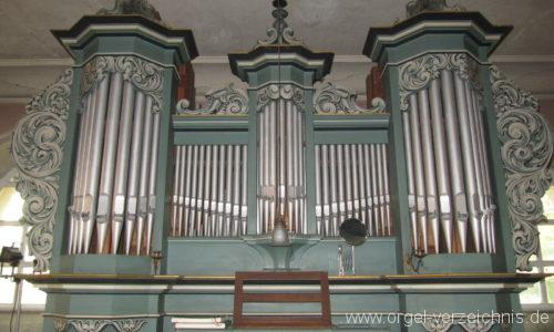 Gosen-Neu Zittau Evangelische Kirche Gosen Orgelprospekt (9)