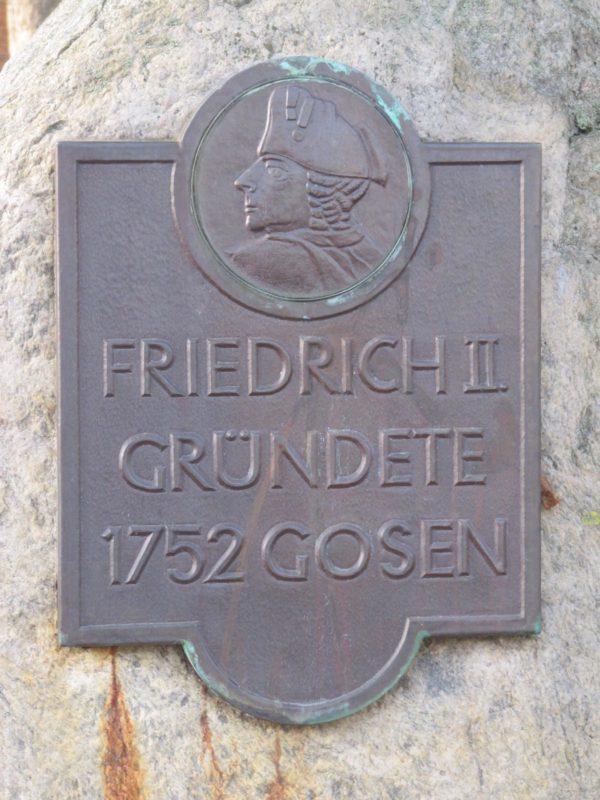 Gosen-Neu Zittau Evangelische Kirche Gosen Schrifttafeln (4)