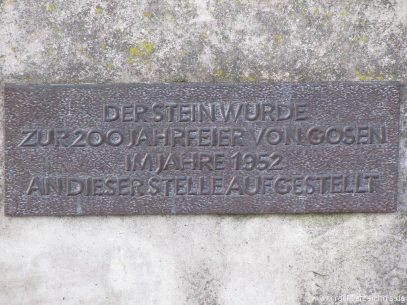 Gosen-Neu Zittau Evangelische Kirche Gosen Schrifttafeln (5)