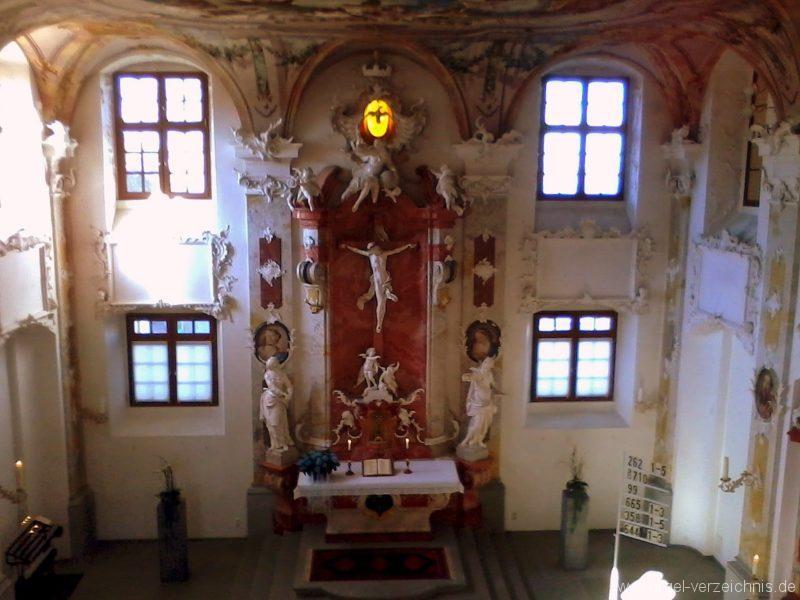 Meersburg Evangelische Schlosskirche Altar II