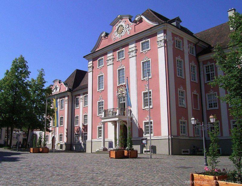 Meersburg Evangelische Schlosskirche Aussenansicht (1)