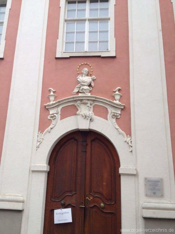 Meersburg Evangelische Schlosskirche Aussenansicht (2)