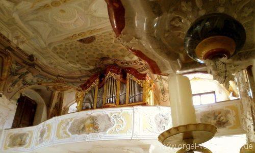 Meersburg Evangelische Schlosskirche Prospekt I