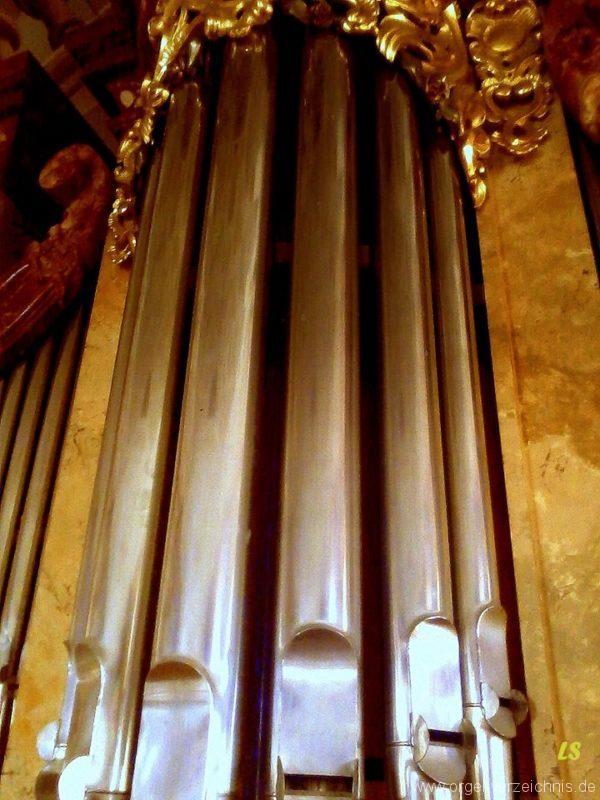 Meersburg Evangelische Schlosskirche Prospekt III