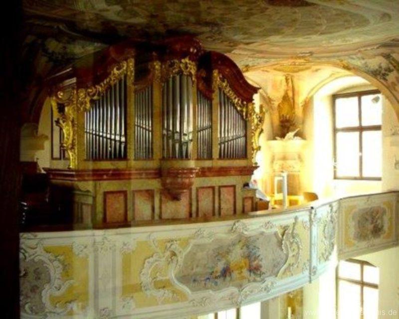 Meersburg Evangelische Schlosskirche Prospekt IV
