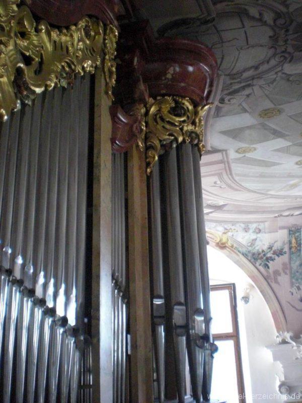 Meersburg Evangelische Schlosskirche Prospekt V