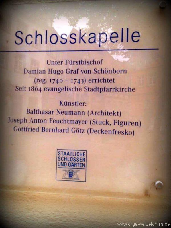 Meersburg Evangelische Schlosskirche Tafel