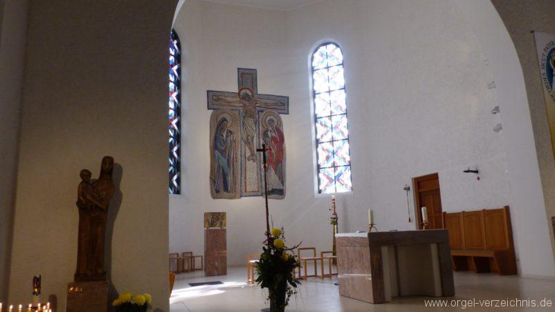 Offenburg Rammersweier Herz Jesu Altarraum 1