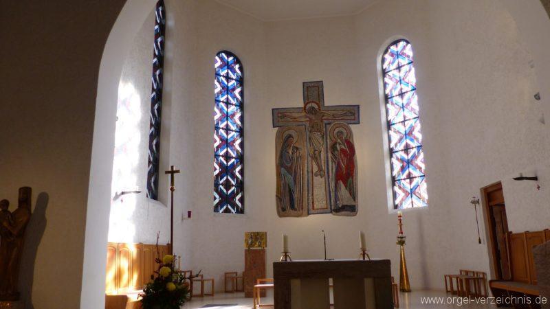 Offenburg Rammersweier Herz Jesu Altarraum 2