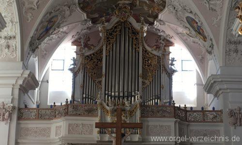 Stams - Stiftskirche Mariae Himmelfahrt - Hauptorgel (28)