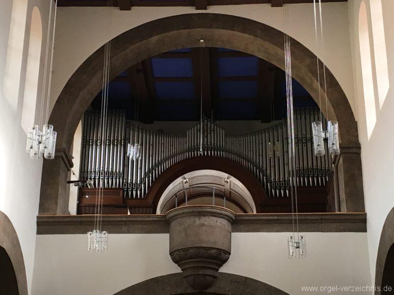 Innsbruck-Pradl A - Pfarrkirche Mariae Empfängnis - Orgel (10)