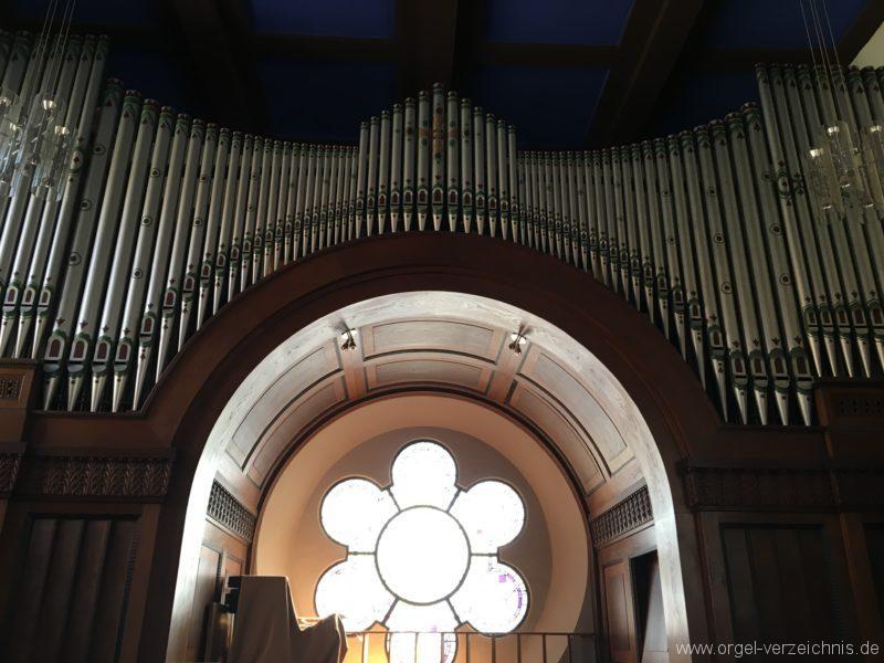 Innsbruck-Pradl A - Pfarrkirche Mariae Empfängnis - Orgel (12)