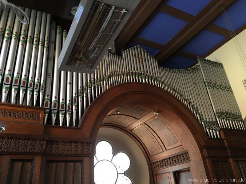 Innsbruck-Pradl A - Pfarrkirche Mariae Empfängnis - Orgel (16)