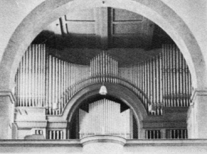 Innsbruck-Pradl A - Pfarrkirche Mariae Empfängnis - Orgel Alt (4)