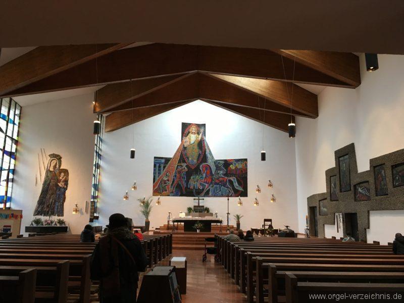 Innsbruck-Reichenau A - Pfarrkirche St. Paulus (3)