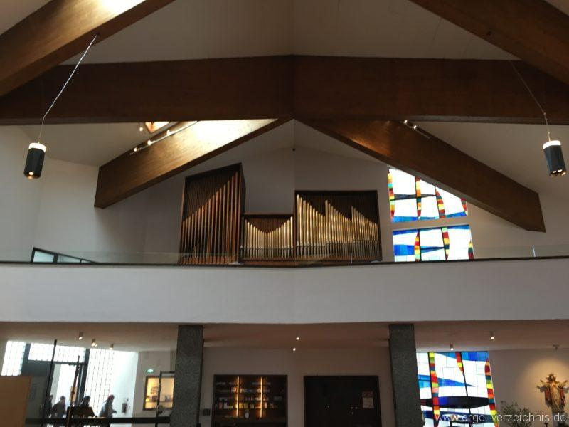 Innsbruck-Reichenau A - Pfarrkirche St. Paulus - Orgel (10)