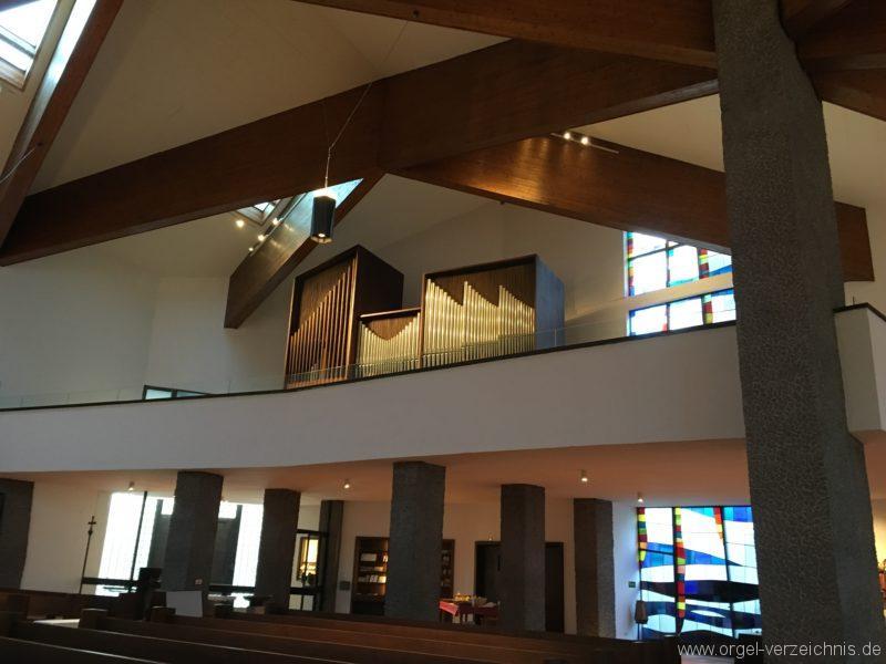 Innsbruck-Reichenau A - Pfarrkirche St. Paulus - Orgel (24)