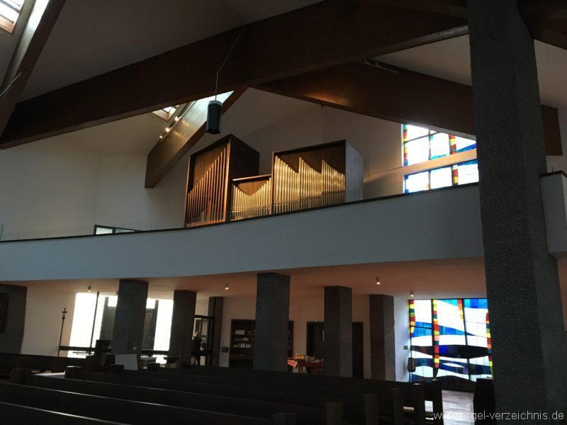 Innsbruck-Reichenau A - Pfarrkirche St. Paulus - Orgel (25)