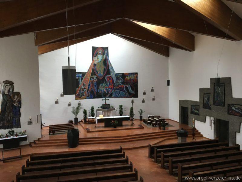Innsbruck-Reichenau A - Pfarrkirche St. Paulus - Orgel - Spieltisch (2)