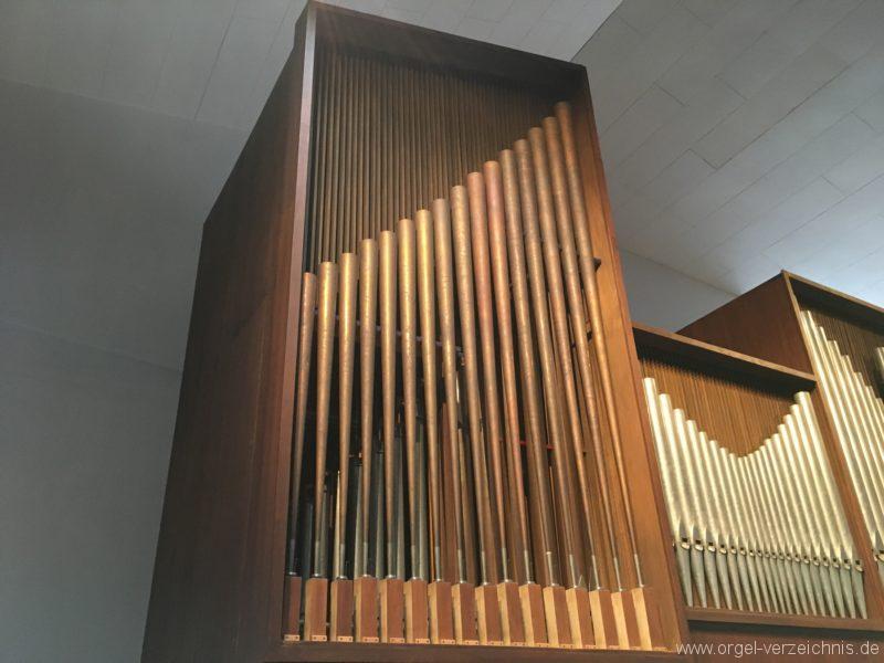 Innsbruck-Reichenau A - Pfarrkirche St. Paulus - Orgel - Spieltisch (7)